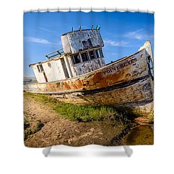 Pt Reyes Shower Curtain