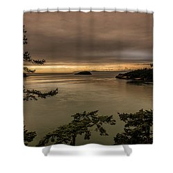 Pudget Sound Shower Curtain