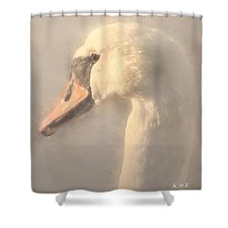 Shower Curtain featuring the photograph Purity by Rose-Maries Pictures