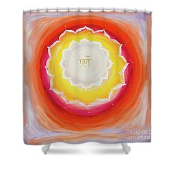 Purna Yantra Shower Curtain