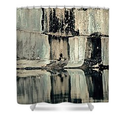 Quarry Shower Curtain by Gillis Cone