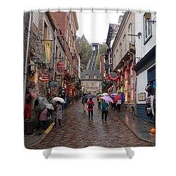 Quebec City Shower Curtain