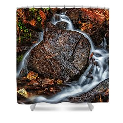 Quiet My Soul Shower Curtain by Rick Furmanek