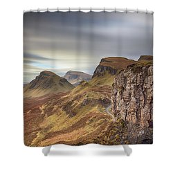 Quiraing - Isle Of Skye Shower Curtain