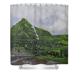 Visapur Fort Shower Curtain