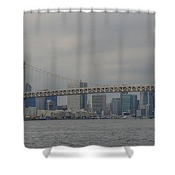 Rainbow Bridge Shower Curtain