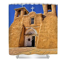 Ranchos De Taos Church  Shower Curtain