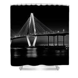 Ravenel Bridge Shower Curtain