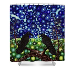 Ravens Tale Shower Curtain