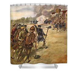 Rebels: Arsenal, 1787 Shower Curtain by Granger