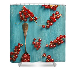Red Currant Shower Curtain
