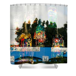 Reflection Lights Shower Curtain