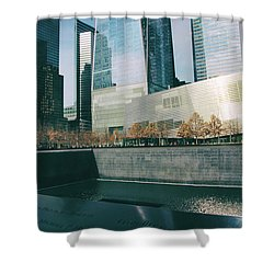 Shower Curtain featuring the photograph Reflections Of Sorrow by Jessica Jenney