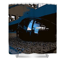 Reflections Shower Curtain by John Rossman