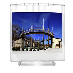 Renaissance Theater Shower Curtain