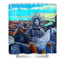 Respect Mother Earth Shower Curtain