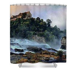 Rhinefalls, Switzerland Shower Curtain
