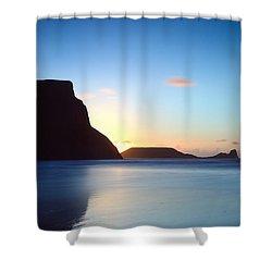 Rhosili 1 Shower Curtain