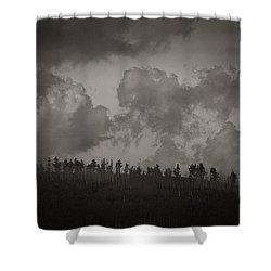 Ridgeline Shower Curtain
