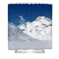 Rifflsee Shower Curtain by Christian Zesewitz