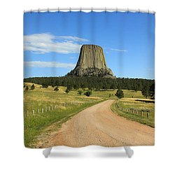 Road To The Tower Shower Curtain