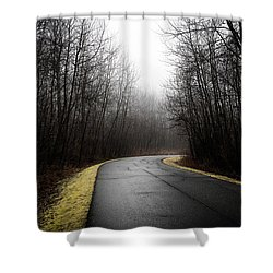 Roads To Nowhere Shower Curtain