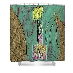 Number 1 Shower Curtain