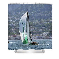 Rolex Capri Sailing Week 2014 Shower Curtain