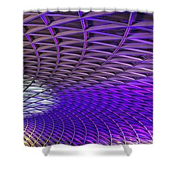 Roof Design Shower Curtain by Shirley Mitchell