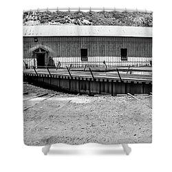 Shower Curtain featuring the photograph Round And Round by Colleen Coccia
