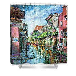 Royal Lights Shower Curtain by Dianne Parks