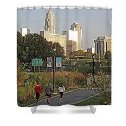Runable Charlotte Shower Curtain