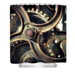 Rust Never Sleeps Shower Curtain