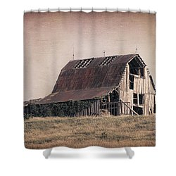 Rustic Barn Shower Curtain by Tom Mc Nemar