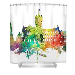 Rutherglen Scotland Skyline Shower Curtain