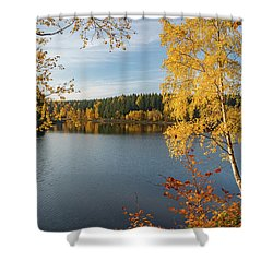 Saegemuellerteich, Harz Shower Curtain