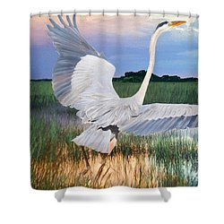 Sail Into Sunset Shower Curtain