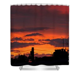 Sailors Delight Shower Curtain