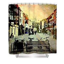 Salisbury England Shower Curtain