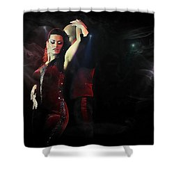 Salsa,salsadancer,salsadance, Shower Curtain