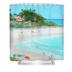 San Clemente Beach California Shower Curtain by Jan Matson
