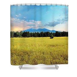 San Francisco Peaks  Shower Curtain