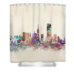 San Francisco Skyline Shower Curtain