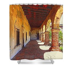 San Juan Capistrano Shower Curtain