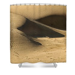 Shower Curtain featuring the photograph Sand Dune by Yew Kwang