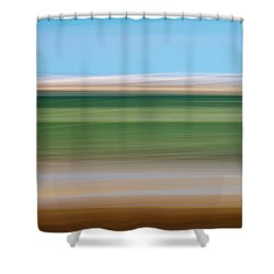 Sandy Neck 1 Shower Curtain