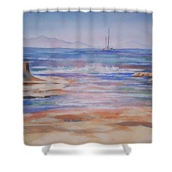Santa Cruz Shower Curtain