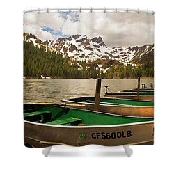 Sardine Lake Shower Curtain