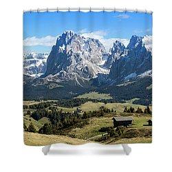 Sasso Lungo And Sasso Piatto Shower Curtain