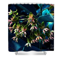 Satin Shower Curtain by Elfriede Fulda